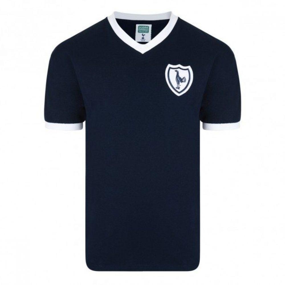 Tottenham Hotspur retro shirt 1961-1962 uit (SPURS62A8SS)