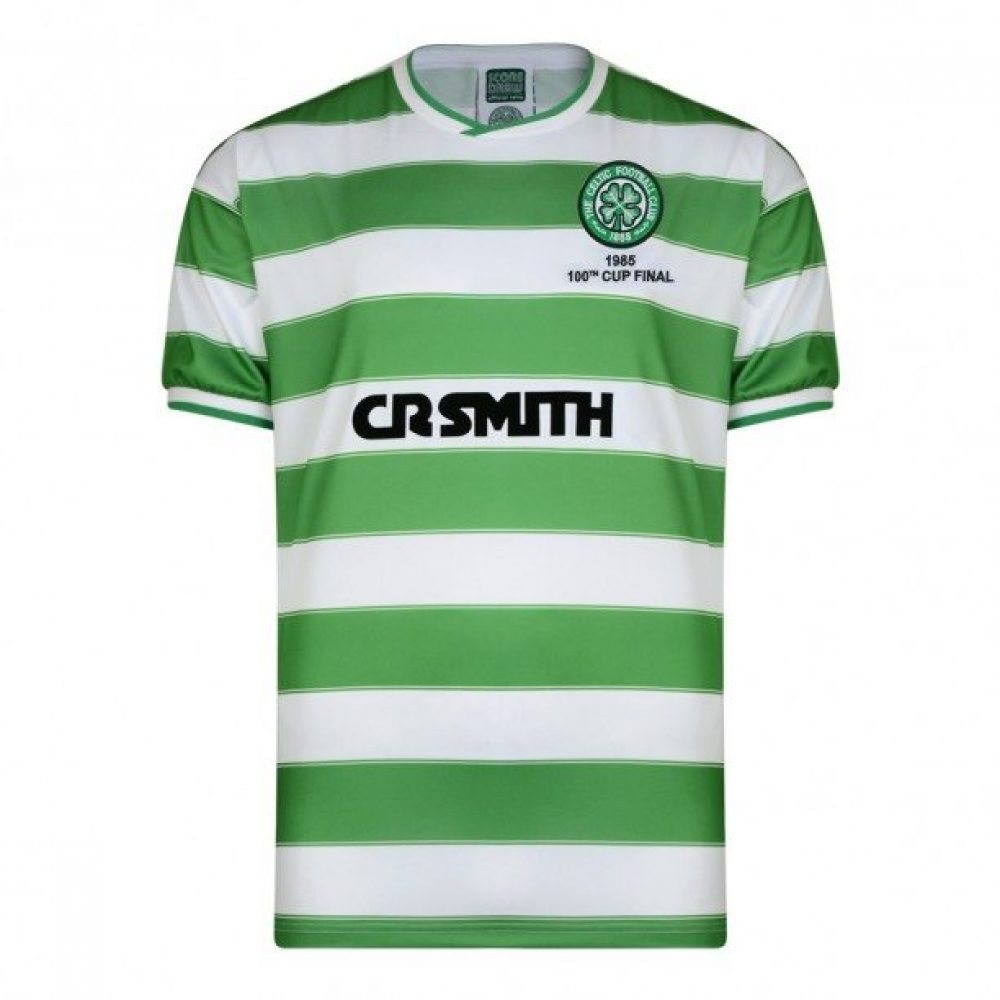 Celtic retro shirt 1985 Scottish Cup (CELT85HSCFPYSS)
