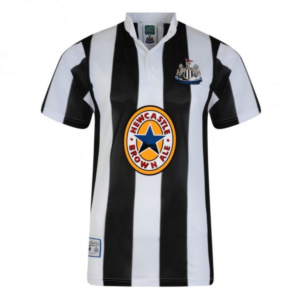 Newcastle United retro shirt 1995-1996 (NEWC96HPYSS)
